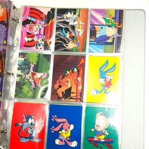 260 Looney toons warner Brothers trading cards